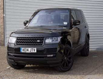 Hire Range Rover LWB 4 Seater