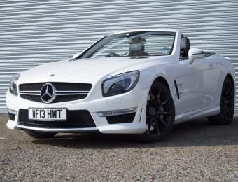 Hire Mercedes SL63 AMG