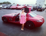 Jessica Wright at Season Car Hire