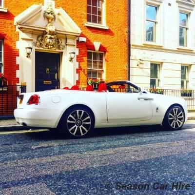 Rolls Royce Dawn Hire