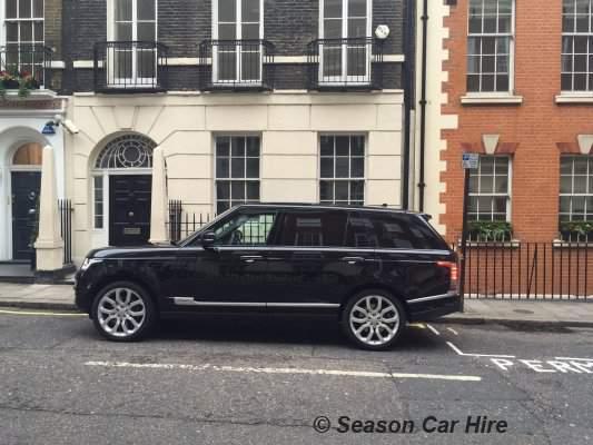 Range Rover Vogue Long Wheel Base Hire