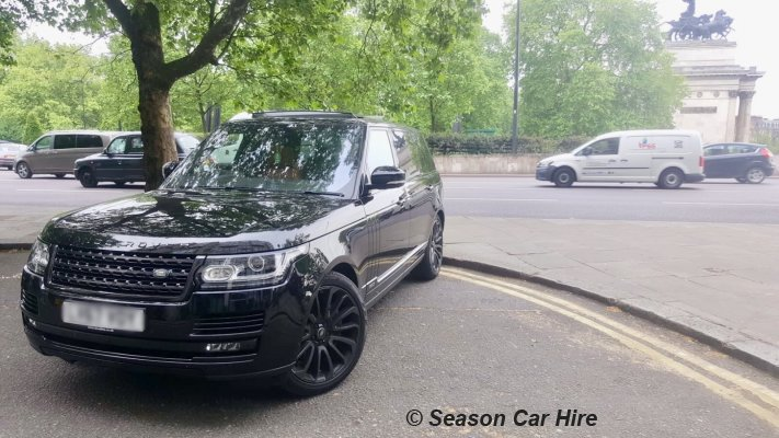 Range Rover Vogue LWB Hire