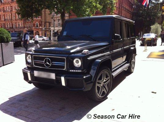 Mercedes G63 Hire