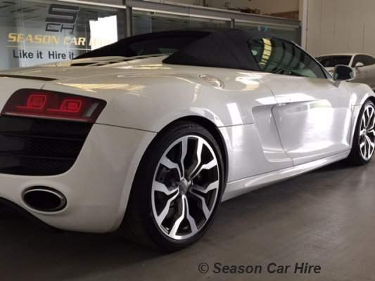 Audi R8 Spyder Hire