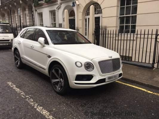 Bentley Bentayga Hire