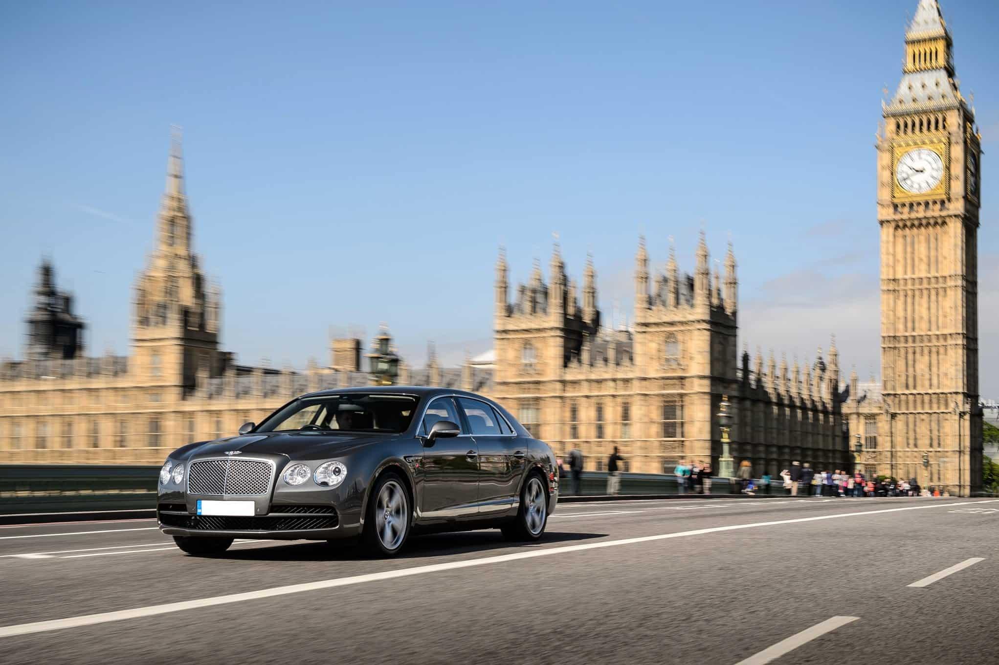 تأجير سيارات فخمة في لندن