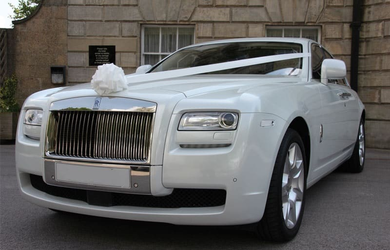 Wedding Car Hire - Rolls Royce Ghost Hire
