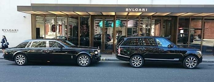تأجير سيارات فخمة في لندن -