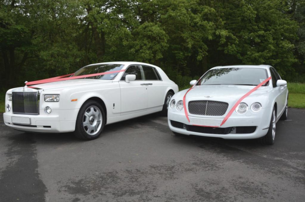 Wedding car hire London. Bentley & Rolls-Royce