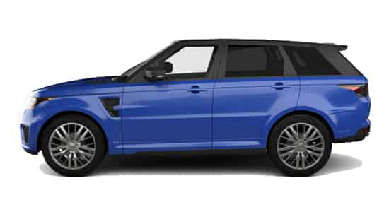 Range Rover Sport SVR Hire London