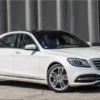 Mercedes S500 hire in London