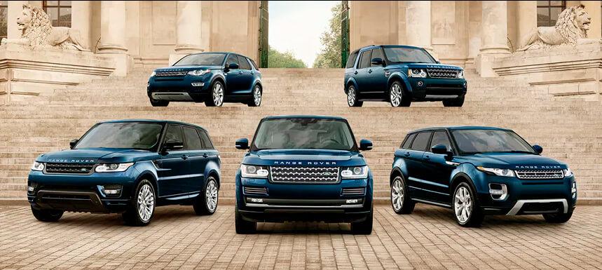 Range Rover Hire London: Our Fleet