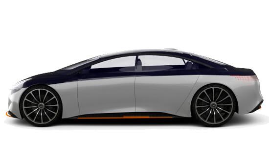 Mercedes EQS Hire